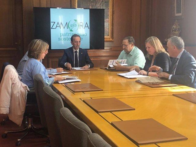 Deliberación del Jurado de los Premios de Turismo de Zamora 9-10-2018