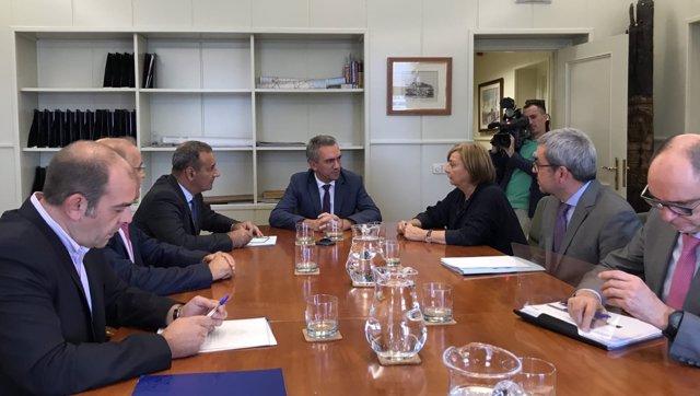 Reunión en el Ministerio de Fomento
