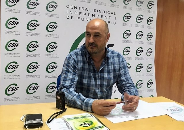 El secretario de Administración Local del Csif, Eugenio Zambrano