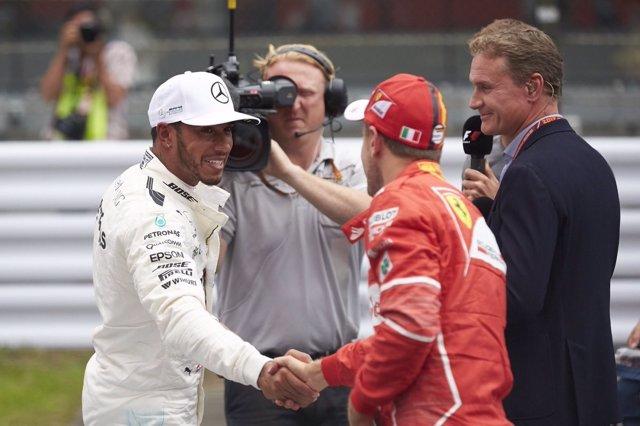 Lewis Hamilton Sebastian Vettel Japón