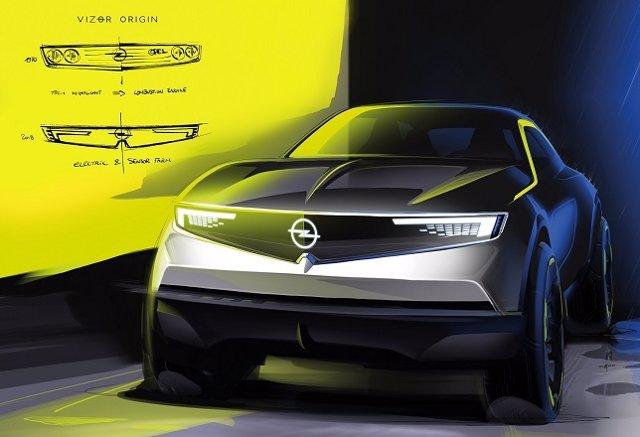 Opel adelanta su visión de futuro con los prototipos Compass y Vizor