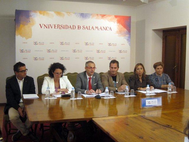 Presentación en Salamanca de la acreditación del IBFG. 9-10-2018