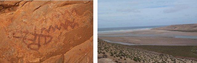 Representaciones amazigh y desembocadura del Draa en Tan Tan