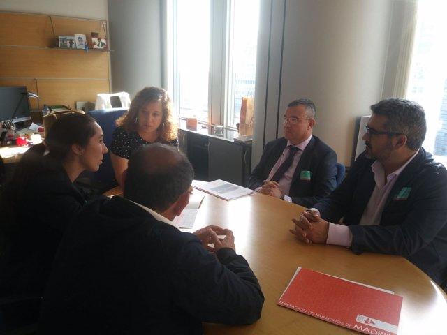 Reunión de la FMM con eurodiputados