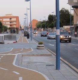 Calle Padre Méndez de Almería