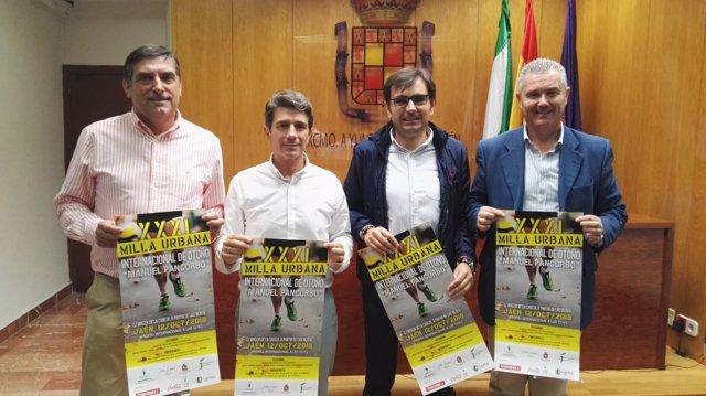 Presentación de la XXXI Milla Urbana Internacional de Otoño Manuel Pancorbo.