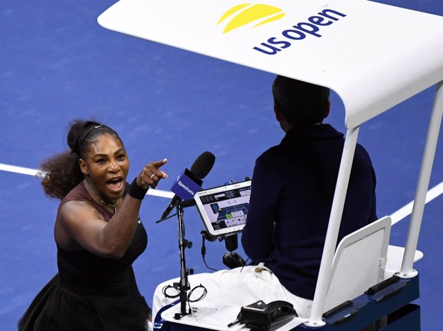 Serena Williams Carlos Ramos juez silla US Open