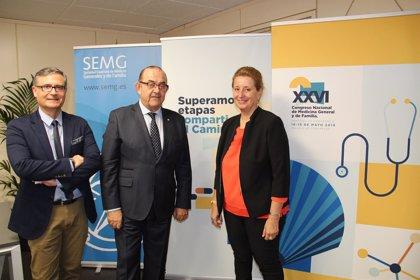 El Congreso de la Sociedad Española de Médicos Generales llega a Santiago superando etapas y compartiendo 'El Camino'
