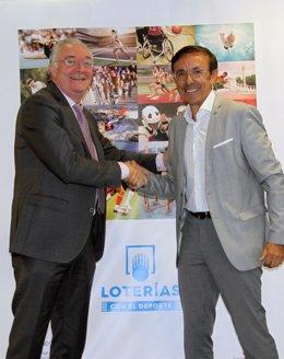 [Grupodeportes] Loterías Colabora Con La Federación Española De Triatlón.