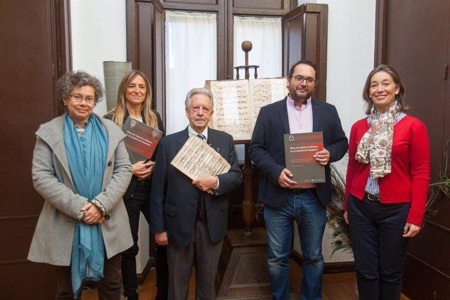 Colección de obras de los fondos musicales de la Catedral de Pamplona.