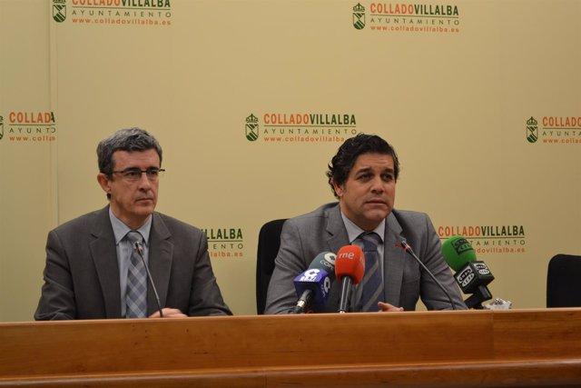 Alcalde de Collado Vilalba, Agustín Juárez
