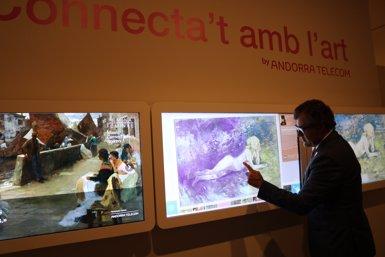 La nova exposició del Museu Carmen Thyssen Andorra situa la dona com a protagonista (EUROPA PRESS)