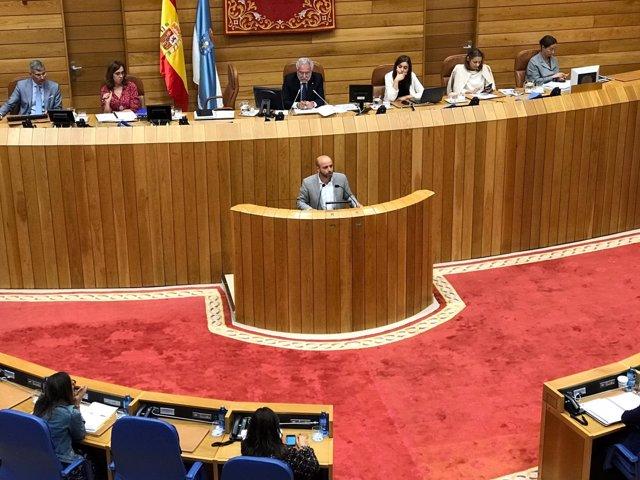 Luís Villares, portavoz de En Marea en el Parlamento
