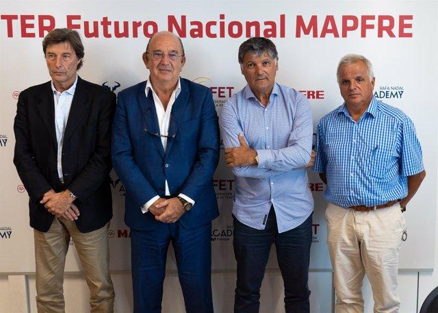 MASTER Futuro Nacional MAPFRE Toni Nadal Miguel Díaz RFET