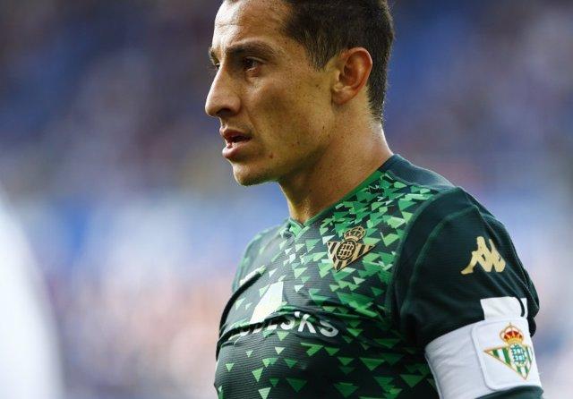 Andrés Guardado, jugador del Betis