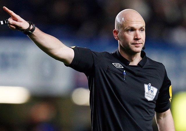 El árbitro inglés Anthony Taylor