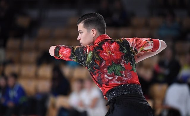 Pau García patinaje