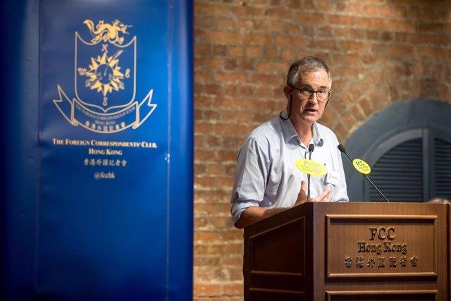 El editor de la edición asiática del 'Financial Times', Victor Mallet