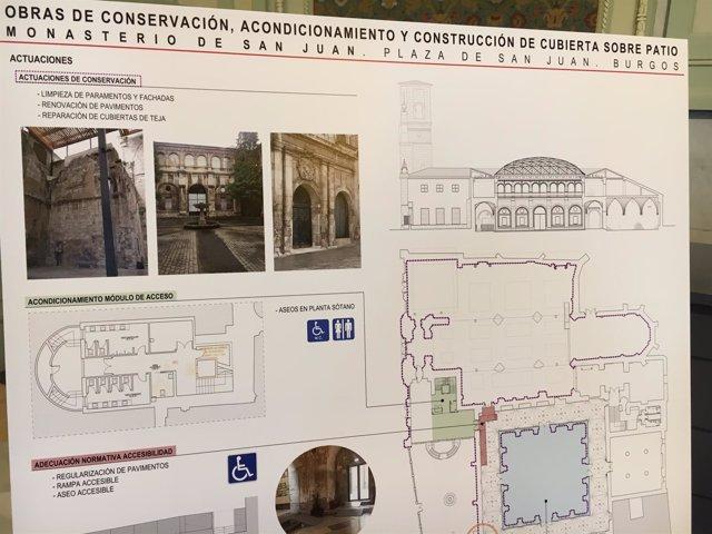 Rehabilitación del Monasterio de San Juan.