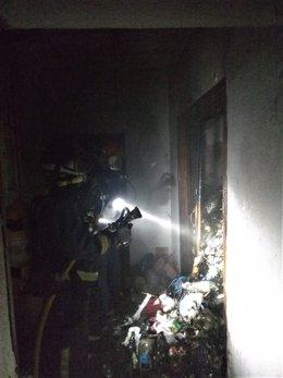 Imagen facilitada por el Consorcio de Extinción de Incendios y Salvamento