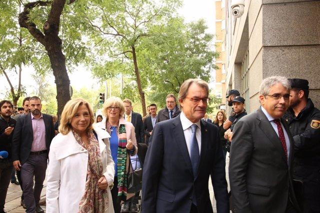 El Tribunal de Cuentas juzga al expresidente de la Generalitat de Cataluña Artur
