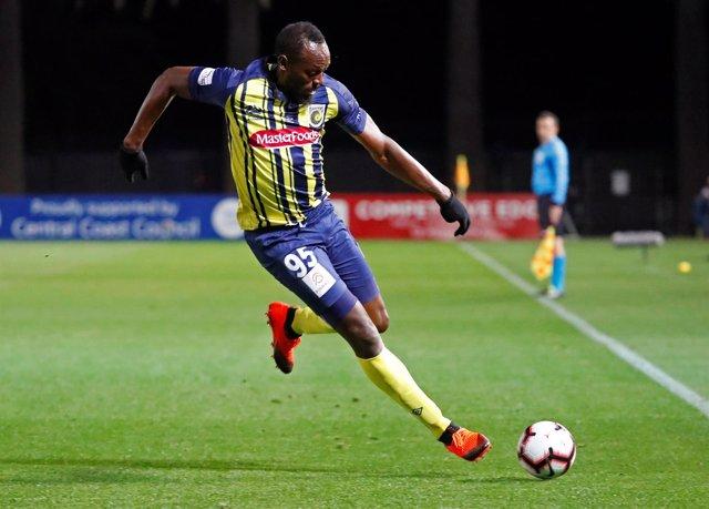 Usain Bolt debuta con en el fútbol profesional con Australia