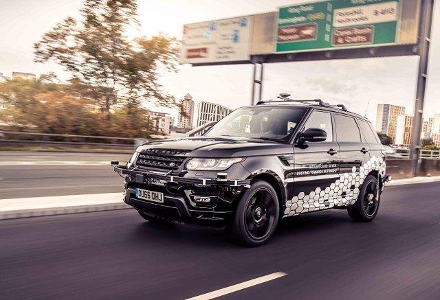 Prototipo de Range Rover autónomo