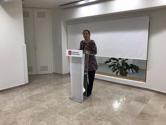 La teniente de alcalde de Derechos Sociales de Barcelona, Laia Ortiz