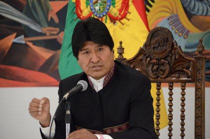 """Morales insta a Piñera a """"reiniciar el diálogo"""" sobre la salida de Bolivia al mar"""