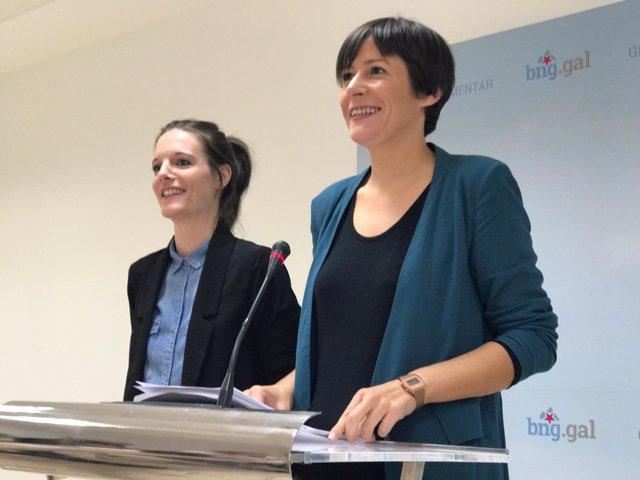 Ana Pontón y Olalla Rodil, del BNG, presentan propuestas de resolución