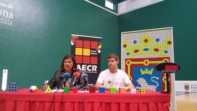 Presentación del XV Campeonato de España de Speedscubing