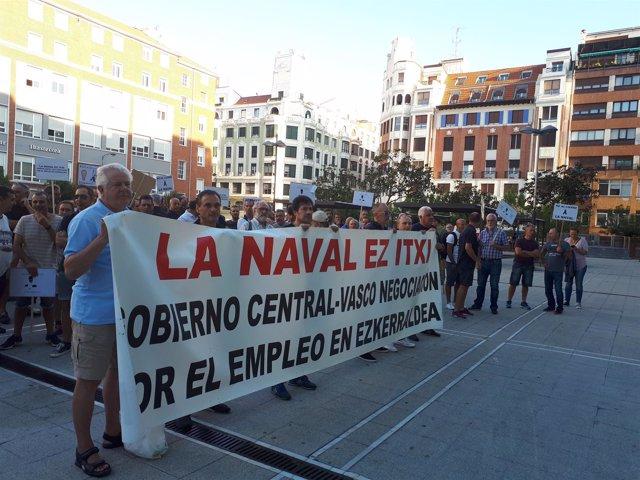 La Naval anuncia a los trabajadores del astillero un ERE de extinción este mes