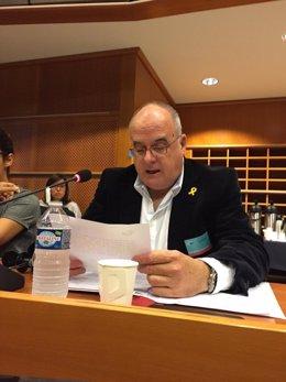 Intervención de Joseba Egibar, de PNV, en Bruselas