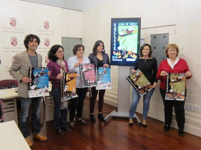 Presentación del proyecto Enclave Multicultural en Segovia. 10-10-2018