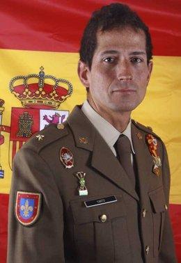 El comandante Fernando Yarto Nebreda, fallecido en Jaca (Huesca)