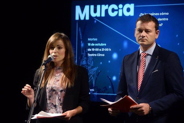 Los concejales Rebeca Pérez y Marco Antonio Fernández