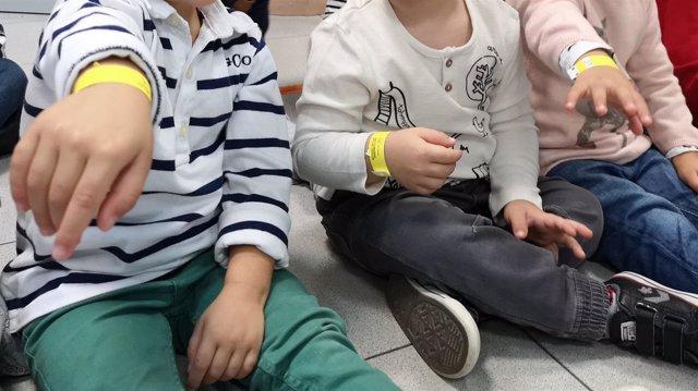 Pulseras identificativas de menores