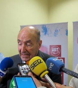 Miguel Roca Junyent, en Valladolid.
