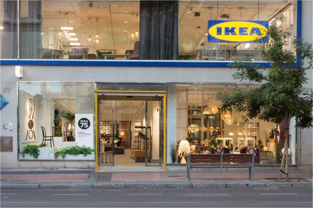 La tienda de IKEA en Goya