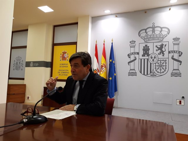 El delegado del Gobierno en La Rioja, José Ignacio Pérez
