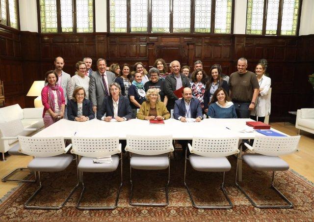 La plantilla municipal de Madrid y la identidad de género