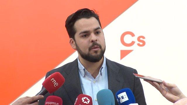 Fernando De Páramo, Secretario De Comunicación De Ciudadanos