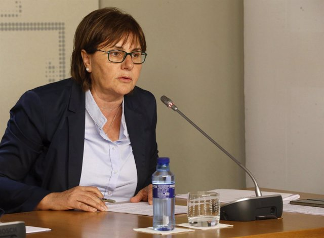 La consejera de SErvicios y Derechos Sociales, Pilar Varela