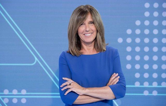 Ana Blanco, presentadora de TVE