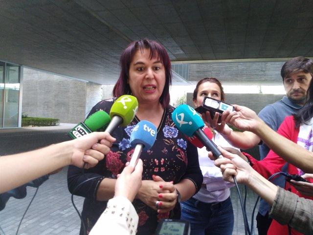 Begoña García, consejera de Medio Ambiente y Rural de la Junta de Extremadura