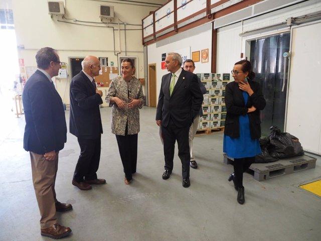 Barcones visita el Banco de Alimentos de Valladolid