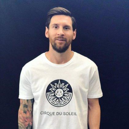 Leo Messi, 'protagonista' del nuevo espectáculo del Cirque du Soleil