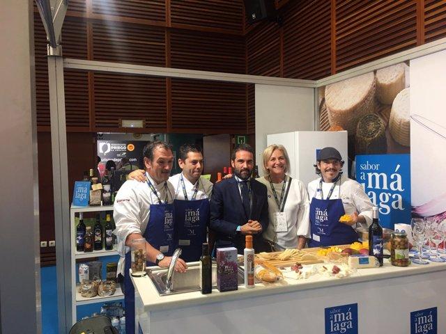 Sabor a Málaga en congreso gastronomía San Sebastían