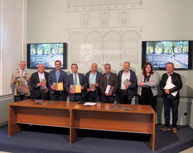 Presentación De  'Los 1.000 Otoños De Salamanca En Bandeja'
