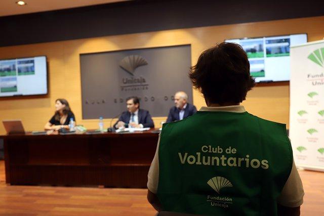 Presentación del Club de Voluntarios de Fundación Unicaja